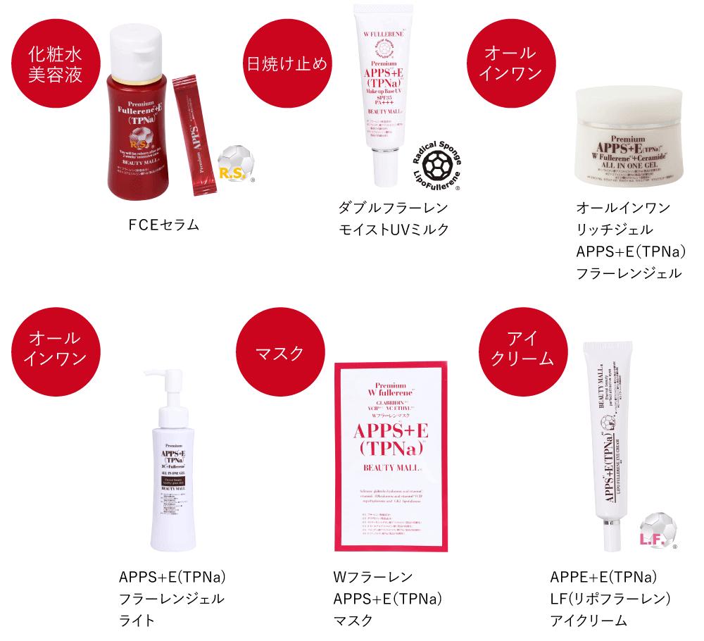 化粧水美容液・日焼け止め・オールインワン・マスク・アイクリーム